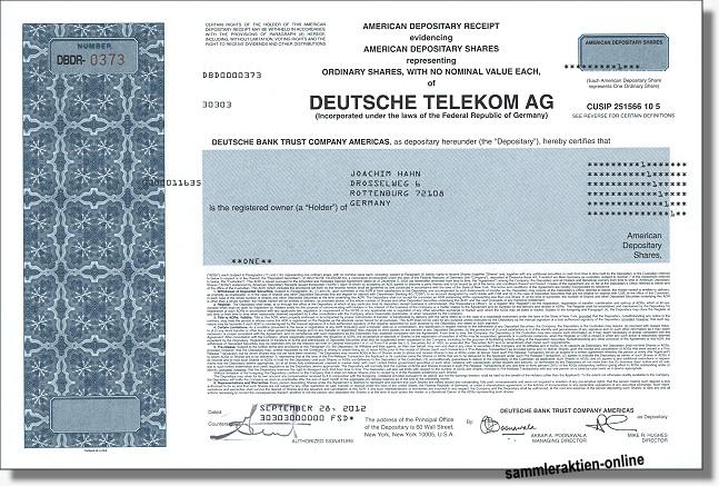 Aktien Telekom