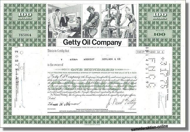 Getty Oil Company