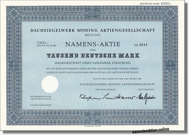 Dachziegelwerk Möding AG