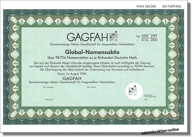 Gagfah Gemeinnützige Aktien-Gesellschaft für Angestellten-Heimstätten