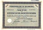 Vereinsbank in Hamburg