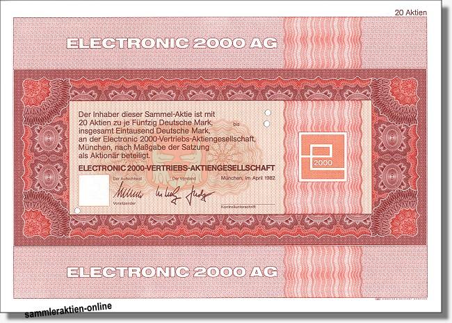 Electronic 2000 AG