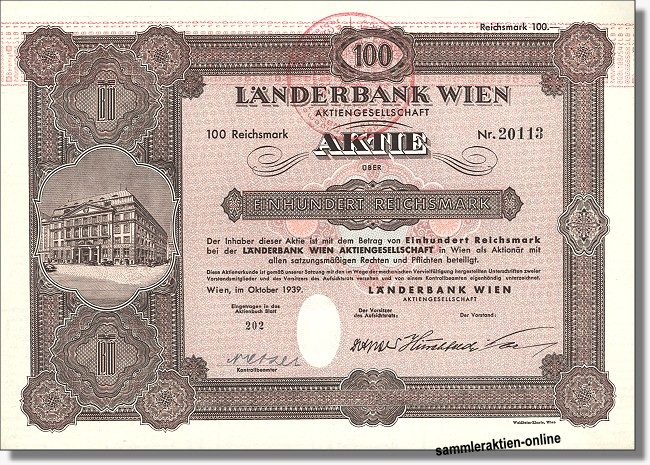 Länderbank Wien Aktiengesellschaft