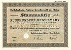 Haffuferbahn-Aktien-Gesellschaft zu Elbing
