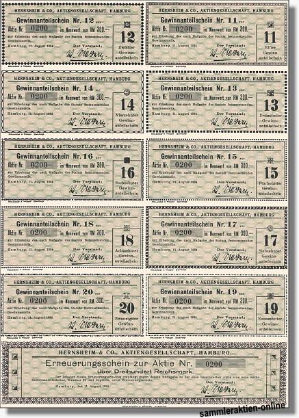 Hernsheim & Co. Aktiengesellschaft