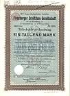 Flensburger Schiffsbau 1904 und 1959