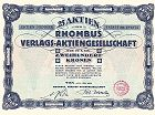 Rhombus Verlags-Aktiengesellschaft