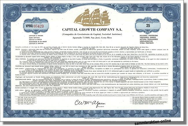 Capital Growth Company S.A.