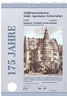 Schmuckanleihe Städtische Sparkasse Schweinfurt