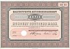 Seltene DM-Aktie - Salzdetfurth AG 1957