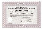 Württembergische Elektrizitäts-Aktiengesellschaft, Stuttgart
