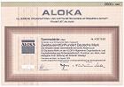 Aloka - Allgemeine Organisations- und Kapitalbeteiligungs-Aktiengesellschaft