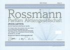 Rossmann - die bekannte deutsche Drogereikette