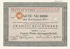 Francke Werke Aktiengesellschaft