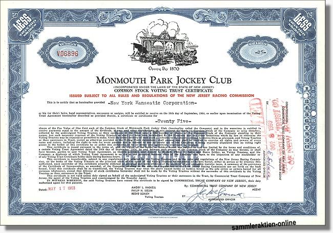Monmouth Park Jockey Club