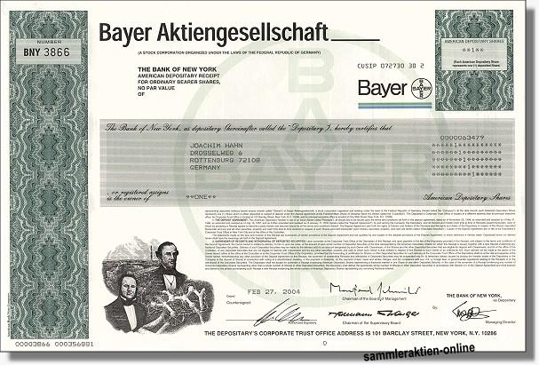 Bayeraktien