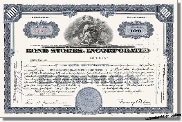 Bond Stores Inc.