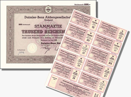 Aktie Daimler