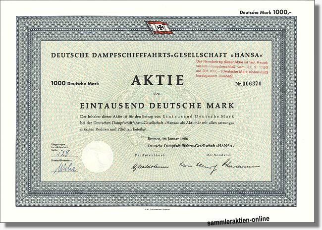 Deutsche Dampfschifffahrts-Gesellschaft HANSA