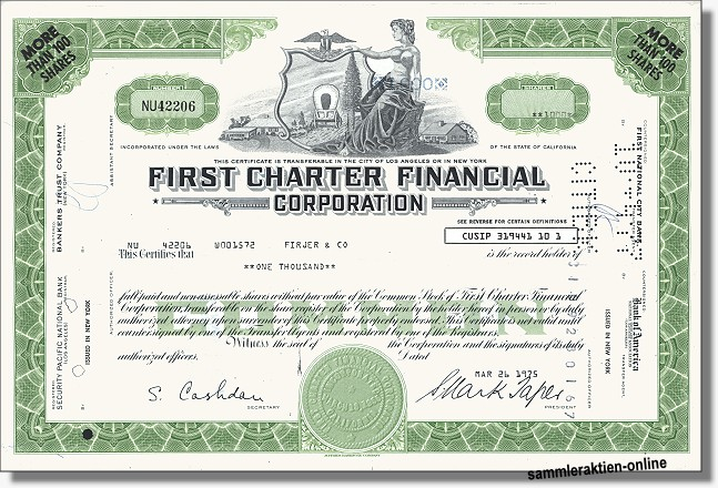 First Charter Financial Corporation
