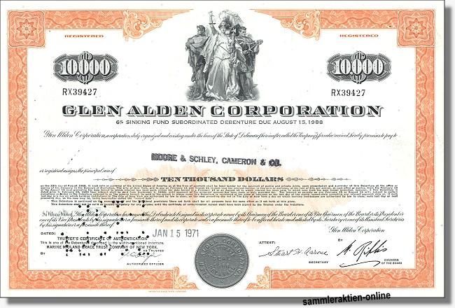 Glen Alden Corporation - Rapid American