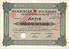 Alte Aktien, historische Wertpapiere, Schmuckaktien aus dem Bereich Eisenbahnen und Strassenbahnen
