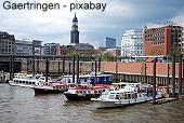 Historische Aktien und alte Wertpapiere aus der Hansestadt Hamburg