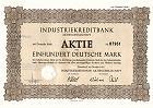IKB Industriekreditbank Aktiengesellschaft