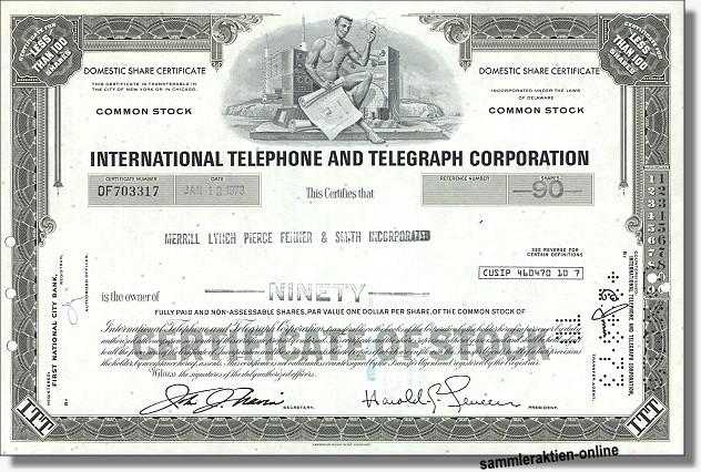 ITT - International Telephone & Telegraph