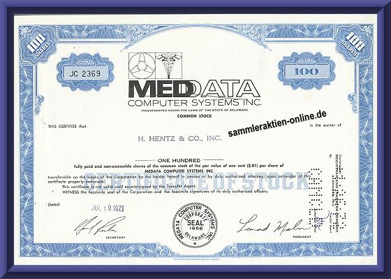 MedData Computer Systems Inc.