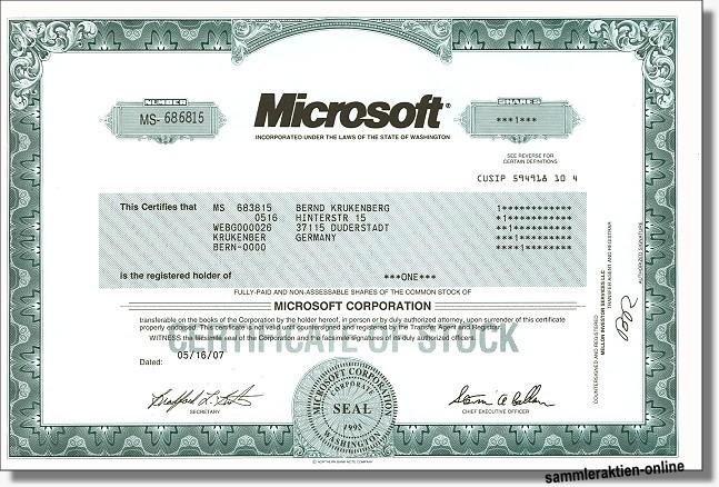 Microsoft Aktie Empfehlung