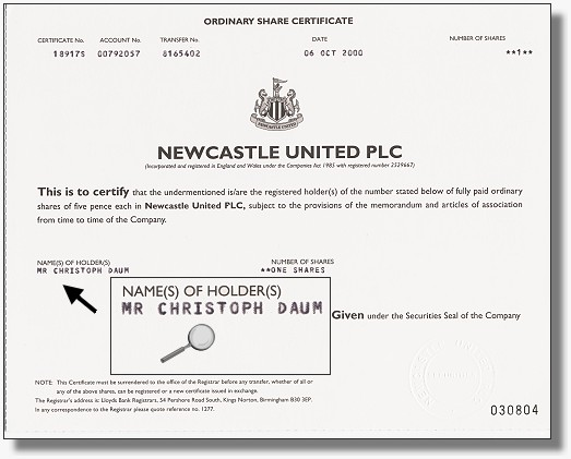 Newcastle United PLC
