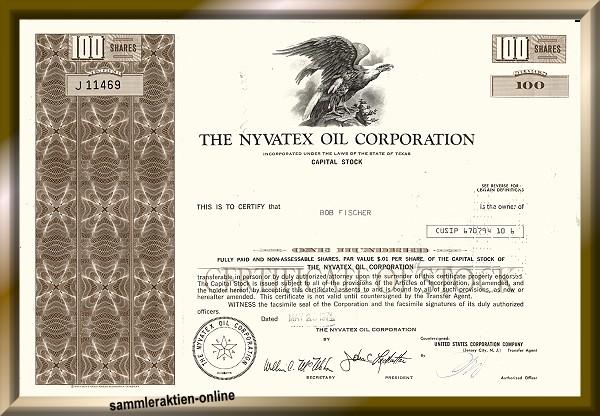 Nyvatex Oil Corporation