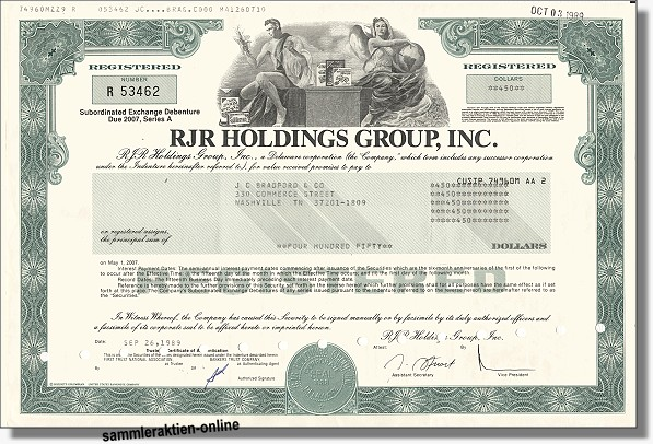 RJR Holdings Group Inc.
