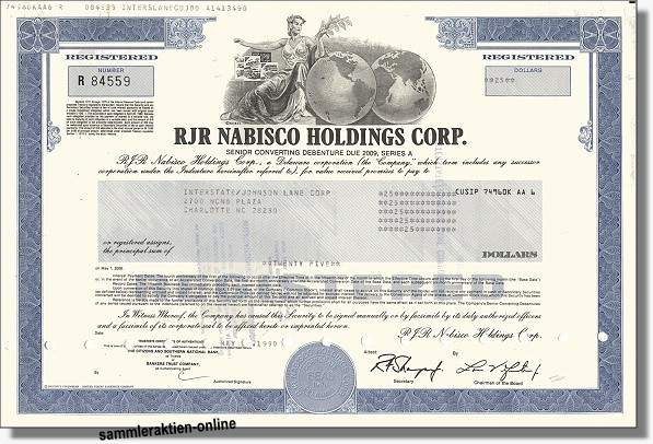 RJR Nabisco Holdings Corp.