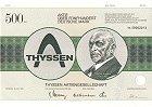 Thyssen AG vorm. August Thyssen Hütte