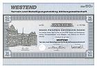 Westend Terrain und Beteiligungsholding AG