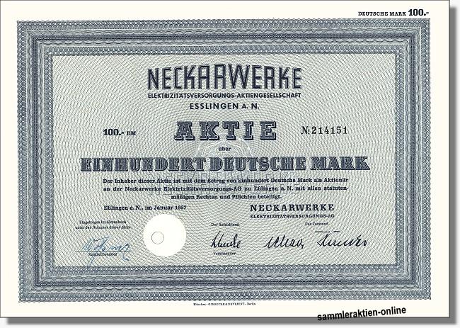 Neckarwerke Elektrizitätsversorgungs-AG