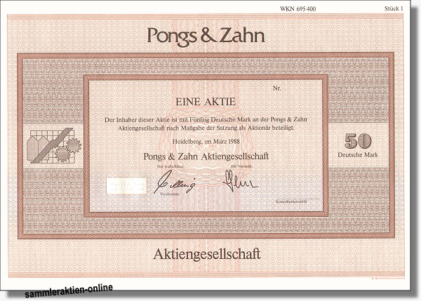 Pongs & Zahn AG
