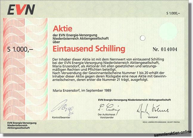 EVN Energie-Versorgung Niederösterreich AG