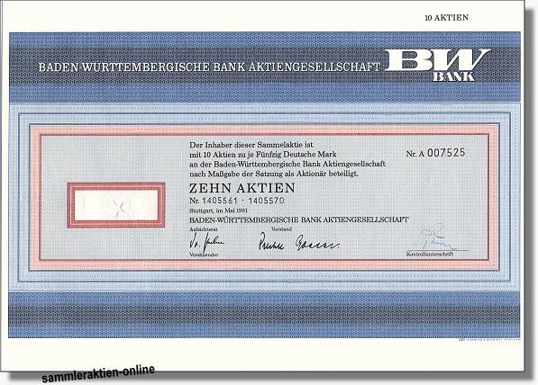 Baden-Württembergische Bank AG, BW-Bank 3. Emission
