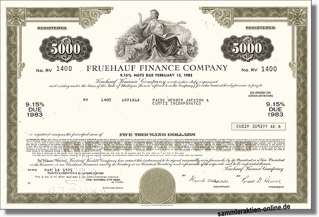 Fruehauf Finance Company