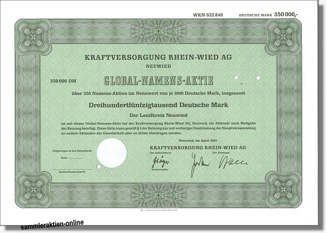 Kraftversorgung Rhein-Wied AG