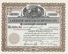 Lakeside Monarch Mining