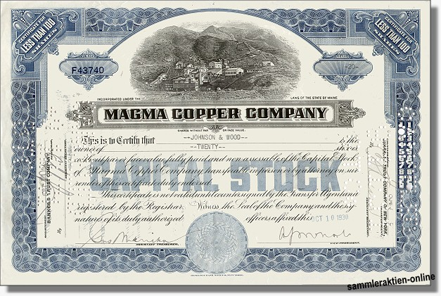 Magma Copper Company
