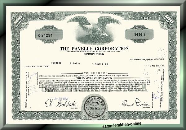 Pavelle Corporation