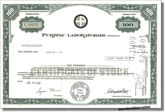 Purepac Laboratories