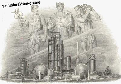 Tolle Optik - Vignettenausschnitt der Royal Dutch Aktie