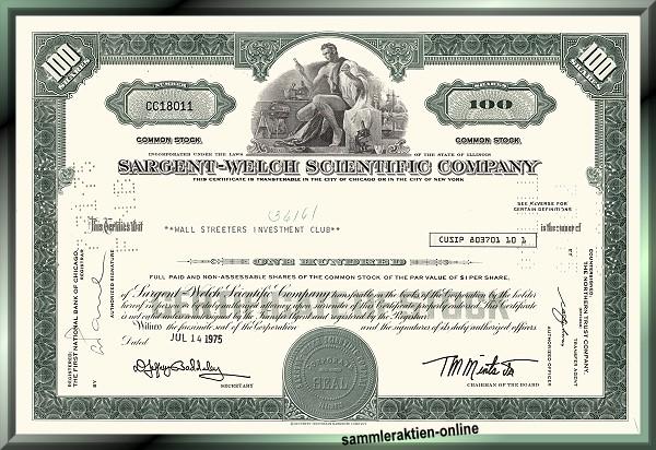 Sargent-Welch Scientific Company