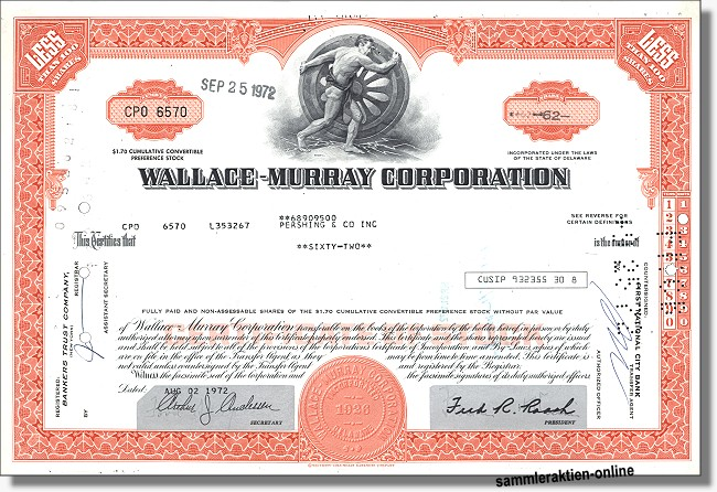 Wallace-Murray Corporation